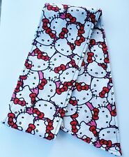 HELLO KITTY HAIR WRAP TIE HEAD SCARF HEADBAND ROCKABILLY PIN UP BANDANNA