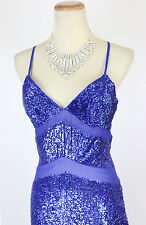 New TERANI P3162 Royal Evening Gown Pageant Party Dress Size 2