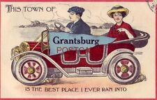 """THIS TOWN OF """"GRANTSBURG"""" IS THE BEST PLACE I EVER RAN INTO 1913"""