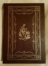 Alice's Adventures in Wonderland Lewis Carroll Easton Press 100 Greatest Leather