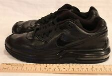 NIKE BOYS AIR MAX WRIGHT LTD (GS) RUNNING SHOES BLACK BLACK 317934 002 Sz 5.5Y