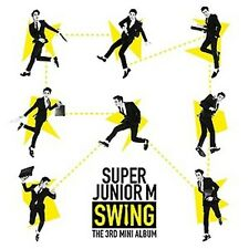 K-pop Super Junior-M - Swing (3rd Mini Album) (SJUM03MN)