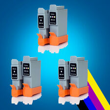 6 ink Cartridge for Canon BCI-24 i350 i455I475d MP370 MP390 MP1300 410 IP1000 2