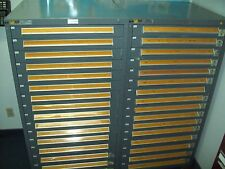 Electronic Components(1,500,000+++ pieces)in a Stanley Vidmar 16 drawer cabinet