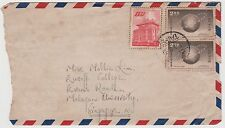 SINGAPORE - Letter from Taipei to Malayan University, Oct 1959 (S39)