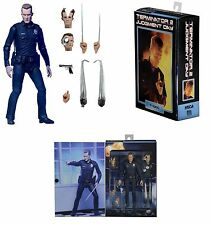 "NECA TERMINATOR 2 JUDGEMENT DAY ULTIMATE T-1000 7"" ACTION FIGURE 2016"