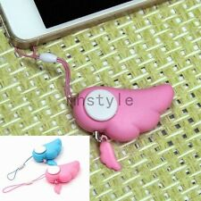 Mini Angle Wing Personal Alarm Attack Keychain Annunciator Self Protection 90dB