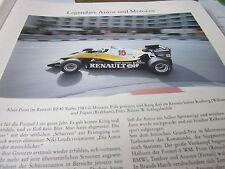 Formel 1 Archiv 2 Autos Motoren 2044 Renault RE40 Turbo Alain Proust 1983