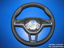 Skoda Rapid Yeti Superb Multifunktion Leder Lenkrad 5L0419091F STEERING WHEEL