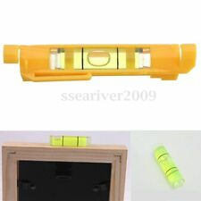 Mini Pocket Line Spirit Level Brick Rope Wire Cord Cable String Bubble Hanger