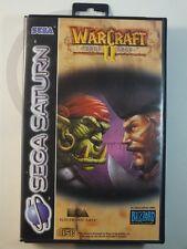 SEGA SATURN GIOCO Warcraft II Dark Saga conf. orig., usato ma BENE/ALTO