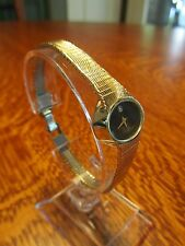 "NEW! Retro Style LONGINES Womens COCKTAIL WATCH Quartz ""Diamond"" Accent"