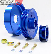OBX Blue Overdrive Pulley FITS 2001 thru 2004 Mustang GT SVT Cobra 4.6L