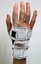 Bowlers Bowling White Wrister Wrist Support right hand small medium large Glove