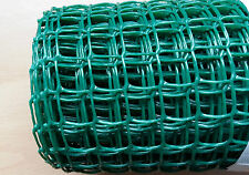 Green Plastic Garden Mesh Wire Ideal for Garden Fencing 5mx1mx19mm Value!