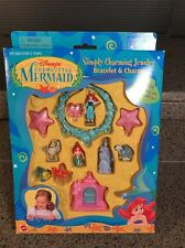 MATTEL Little Mermaid SIMPLY CHARMING JEWELRY Bracelets Charms New Open Box
