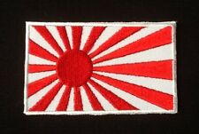 JAPAN NIPON JAPANESE FLAG LAND OF THE RISING SUN BADGE IRON SEW ON PATCH