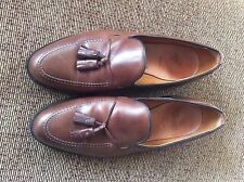 Allen Edmonds Grayson Slip On Tassel Loafers Leather Shoes USA - Brown -13D