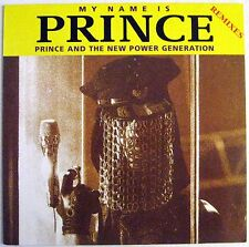 "Prince - My Name Is Prince (Remixes) - 12"" Single - Germany - 1992 - NEW"