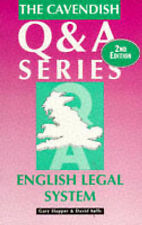 English Legal System Q&A, 1859412637, New Book