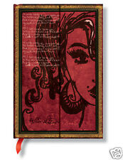 Paperblanks Lined Writing Journal Amy Winehouse Tears Dry 3x5 Mini Size New