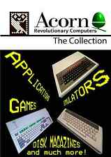 The Acorn Collection - Acorn/BBC  Micro DVD full of emulators/disk files etc