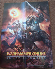 WARHAMMER ONLINE AGE OF RECKONING COMIC CON PROMO POSTER VIDEO GAME SDCC 2008