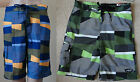 NWT O'RAGEOUS Boys' E-board geo multi swim Shorts,S-8,M-10/12,L-14/16,XL-18/20