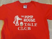 vtg 90s THE PUMP HOUSE tgif club T-SHIRT LG soft BAR denver albany chicago BEER