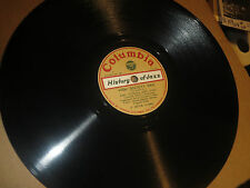 78RPM Columbia (Japan) King Oliver, High Society Rag/Original Dixieland Jass EE+
