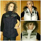 NEW Womens GILET BODYWARMER Ladies JACKET PADDED Hooded fur Waistcoat size:8-24