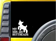 My Kids are Buttheads k570 Sticker 6 inch goat decal