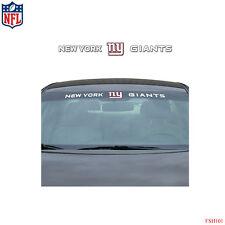 Brand New NFL New York Giants Car Truck SUV Windshield Window Decal Sticker