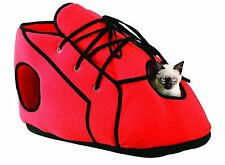 Pet Store Shoe Cat Playhouse Soft Snuggly Shoe Playhouse Shoelace Red For Kitty