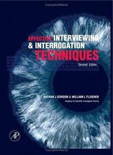 Effective Interviewing and Interrogation Techniques-ExLibrary