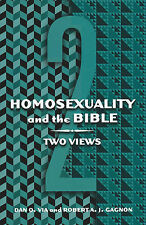 Homosexuality and the Bible: Two Views 9780800636180 by Dan O. Via, Paperback