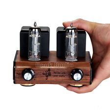 Douk Audio Mini Wood 6F3 Vacuum Tube Amplifier Stereo HiFi Power Amp_Handcrafted