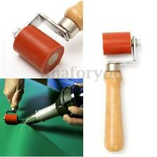 40mm Silicone Gel Seam Pressure Roller For Hot Air Heating Welding Tool Red
