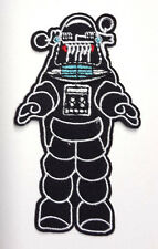 "Forbidden Planet Robby the Robot 4"" Die Cut Embroidered Patch-FREE S&H(FBPA-002)"