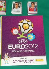 ALBUM PANINI FIGURINE STICKERS EM EURO 2012 VUOTO EMPTY FULL SET COMPLETO MINT