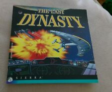 THE LAST DYNASTY Computer video game CD-ROM Sierra Space Combat Role Playing oop