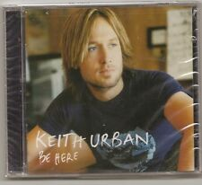 """KEITH URBAN, CD """"BE HERE"""" NEW SEALED"""
