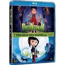 Blu-ray *** PARANORMAN + CORALINE (Blu-ray 3D/2D) * sigillato