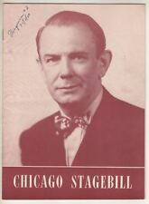 """Eddie Dowling  """"Angel in the Pawnshop""""  Chicago  Playbill  1950  Tryout"""