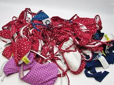 Wholesale LOT of 28: Surfside Polka Dot Bikini Tops Bathing Swim Suit - NWOT