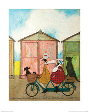 Sam Toft (There may be Better Ways to Spend an Afternoon.) ART PRINT 40cm x 50cm