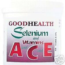 SELENIUM and vitamins ACE. 120 Tablets (FREE POSTAGE)