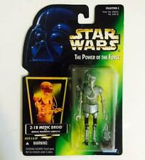 "HASBRO / KENNER STAR WARS 3.75INCH POWER OF THE FORCE "" 2-1B MEDIC DROID "" -RARE"
