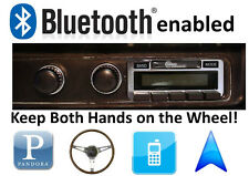 Bluetooth Enabled 1970 Plymouth Barracuda 300 watt AM FM Stereo Radio iPod, USB