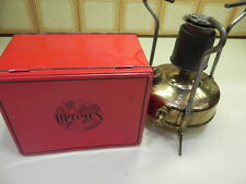 Vintage Optimus No 00 L Pressure Operated Kerosene Camping Stove Sweden